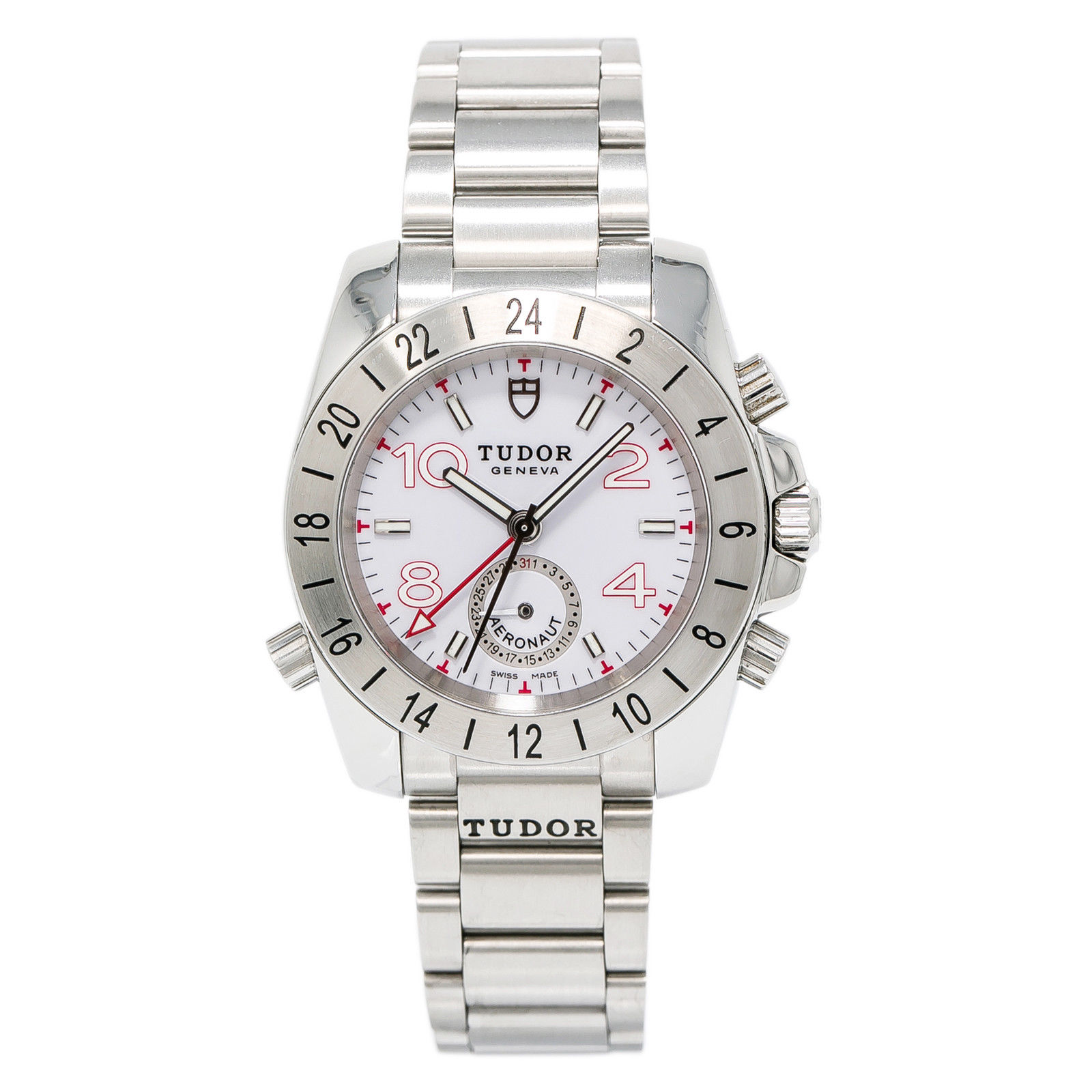 """Image of """"Tudor Aeronaut 20200 Stainless Steel White Dial Automatic 40mm Mens"""""""
