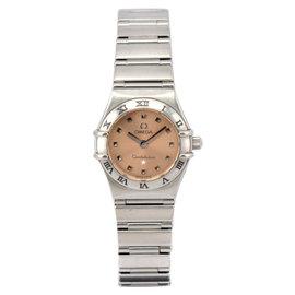 Omega Constellation Mini My Choice 1561.61 Stainless Steel Quartz 22mm Womens Watch