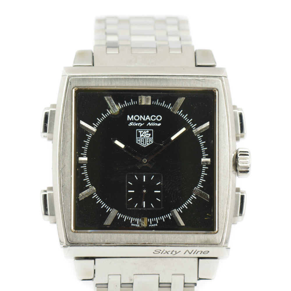 """Image of """"Tag Heuer Monaco Cw9110-0 Stainless Steel Automatic Reversible 39mm"""""""