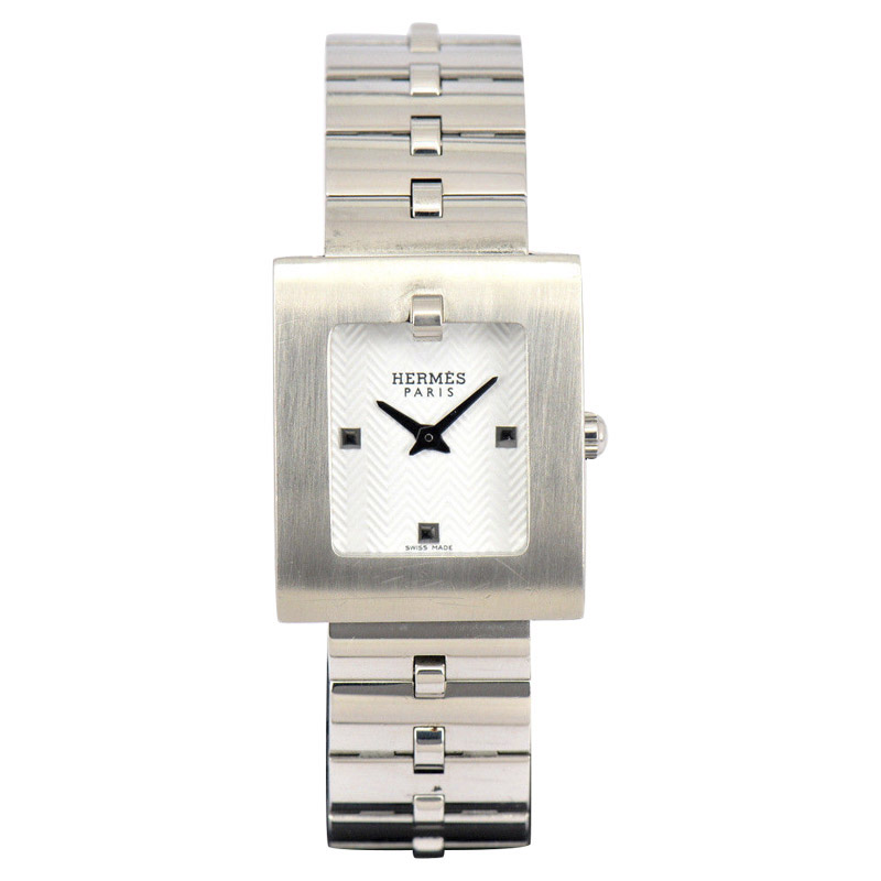"Image of ""Hermes Belt Watch Be1.110 Stainless Steel Quartz 21.5mm Womens Watch"""