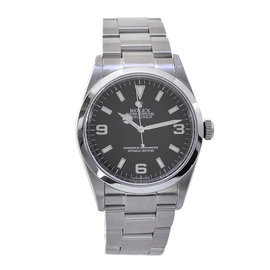 Rolex Explorer 214270 Stainless Steel with Black Dial 39mm Mens Watch