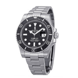 Rolex Submariner 116610 Stainless Steel with Black Dial 40mm Mens Watch