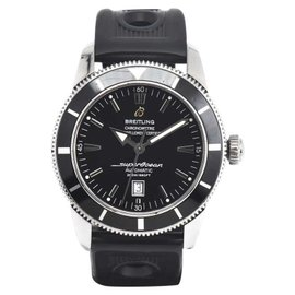 Breitling Superocean Heritage A17320 Stainless Steel & Rubber Automatic 45mm Mens Watch