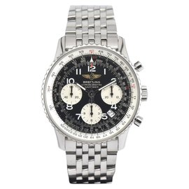 Breitling Navitimer A23322 Stainless Steel with Black Dial Automatic 41.5mm Mens Watch