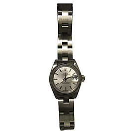 Rolex Date Stainless Steel 28mm Womens Watch