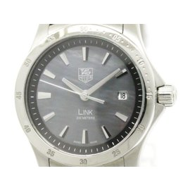 Tag Heuer Link Moon Stainless Steel Quartz 27mm Womens Watch