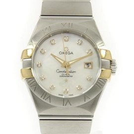 Omega Constellation Stainless steel / Yellow Gold 31mm Womens Watch