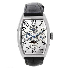 Franck Muller 5850 QP Casablanca Perpetual Calendar Platinum Watch