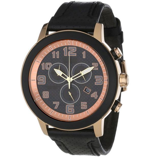 "Image of ""Citizen Eco-Drive At2233-05E Rose Gold-Tone Stainless Steel and"""