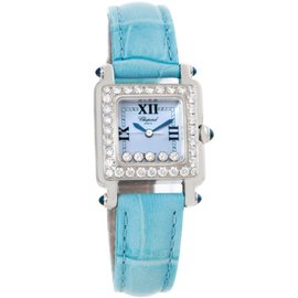 Chopard Happy Sport 27/8894-23/11 Blue Mother Of Pearl Diamond Watch