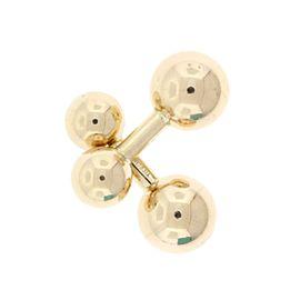 Tiffany & Co. 14K Yellow Gold Cuff Links