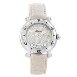 Chopard Happy Sport 278949-3001 Snowflake Floating Diamond Watch