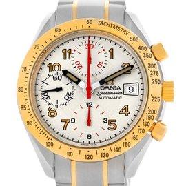 Omega 3313.33.00 Speedmaster Steel Yellow Gold Automatic Watch