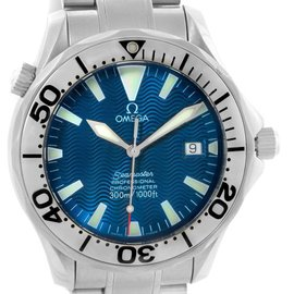 Omega 2255.80.00 Seamaster 300M Stainless Steel Automatic Mens Watch