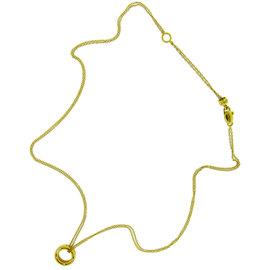 Damiani 18K Yellow Gold Brad Pitt Diamond Necklace