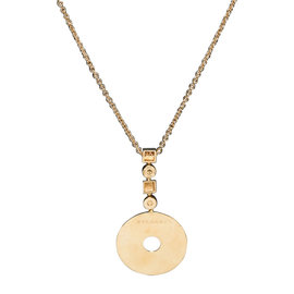 Bulgari Gold Chain and Medallion Necklace
