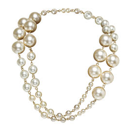 Chanel Large Pearl 01A Necklace