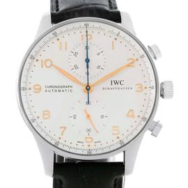 IWC IW371401 Portuguese Chrono Automatic Stainless Steel Mens Watch