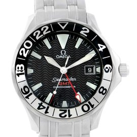 Omega 2534.50.00 Seamaster GMT 50th Anniversary Automatic Mens Watch