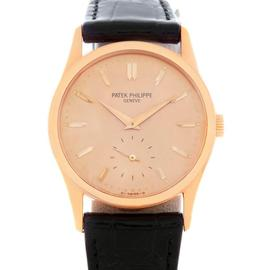 Patek Philippe 3796 Calatrava Vintage 18K Rose Gold Watch
