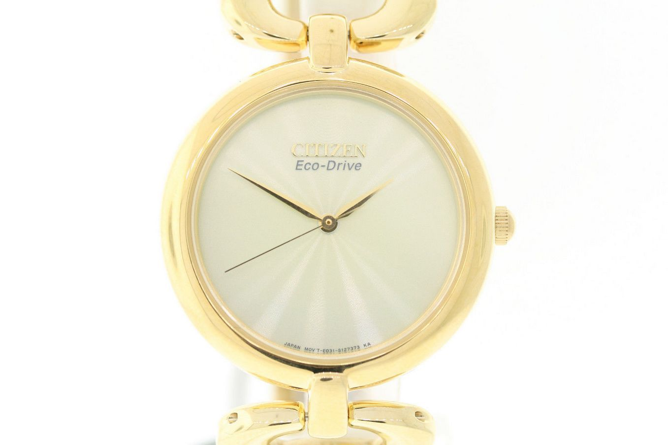 """Image of """"Citizen Em0222-58P Gold Tone Stainless Steel 34mm Womens Watch"""""""