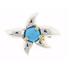 Tiffany & Co. Turquoise Fireworks Pin