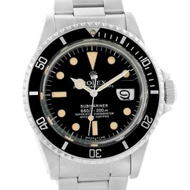 Rolex Submariner 1680 Vintage Stainless Steel Mens Watch