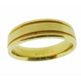 Scott Kay 19K Yellow Gold Wedding Band