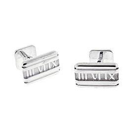 Tiffany & Co. Sterling Silver Atlas Cufflinks
