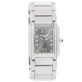 Patek Philippe 4910/10A-010 Stainless Steel 25mm x 30mm Watch