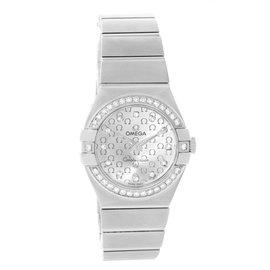 Omega Constellation 123.15.27.60.52.001 Diamond Womens 27mm Watch