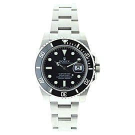 Rolex Submariner 116610 LN Stainless Steel Black Dial Black Ceramic Bezel Mens Watch