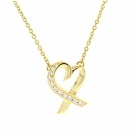 Tiffany & Co. Paloma Picasso Loving Heart Pendant Necklace