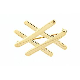 Tiffany & Co. Paloma Picasso Tic Tac Toe Brooch