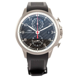 IWC Portugieser Yacht Club Chronograph Titanium & Rubber 46mm Watch