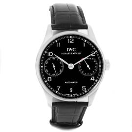 IWC Portugieser IW500109 Stainless Steel Mens Watch