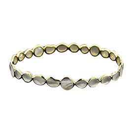 Ippolita 18k Yellow Gold Mother of Pearl Bangle Bracelet