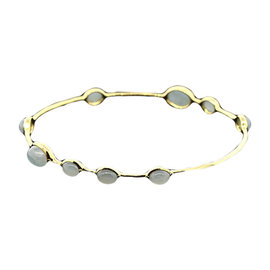 Ippolita 18K Yellow Gold Cabochon Rock Candy Bangle Bracelet