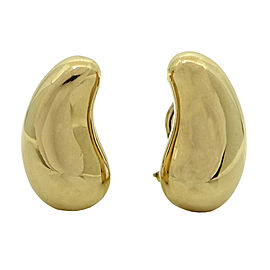 Tiffany & Co. 18K Yellow Gold Elsa Peretti Earrings