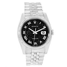 Rolex Datejust 116234 Stainless Steel & 18K White Gold 36mm Watch
