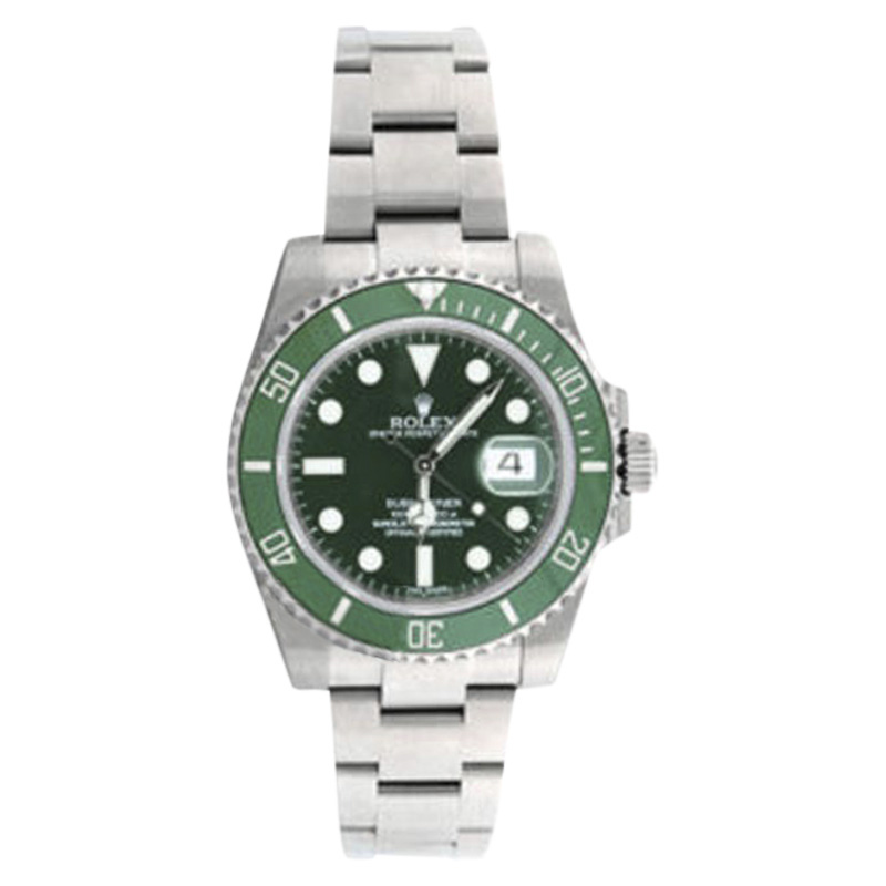 """Image of """"Rolex Submariner 116610Lv Stainless Steel & Ceramic 40mm Watch"""""""