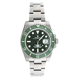 Rolex Submariner 116610LV Stainless Steel & Ceramic 40mm Watch