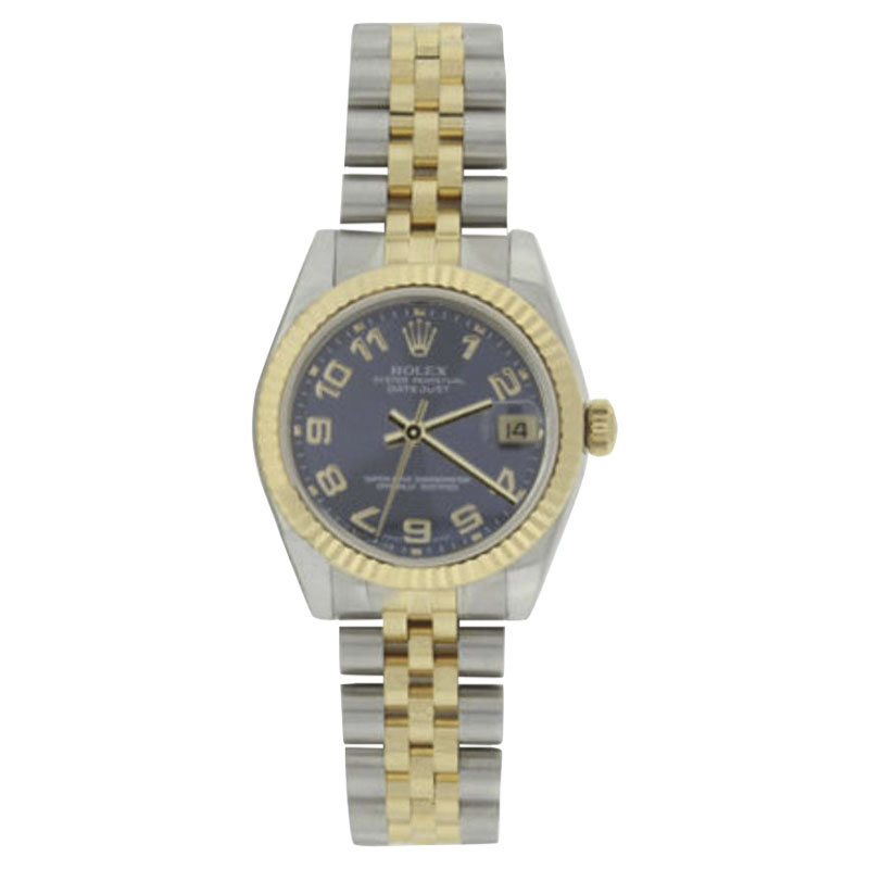 "Image of ""Rolex Datejust 178273 18K Yellow Gold & Stainless Steel 31mm Watch"""