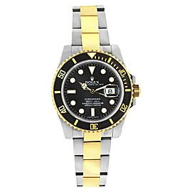 Rolex Submariner 116613 LN Stainless Steel and 18K Yellow Gold Black Dial 40mm Watch