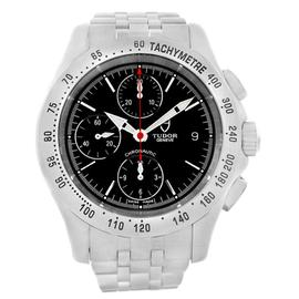 Tudor Chronoautic 79380 Stainless Steel Chronograph 41mm Mens Watch