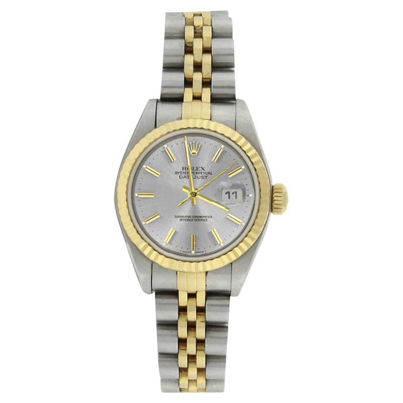 """Image of """"Rolex Datejust 79173 Stainless Steel & 18K Yellow Gold Silver Dial"""""""