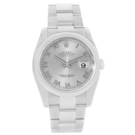 Rolex Datejust 116200 Stainless Steel Silver Dial 36mm Watch