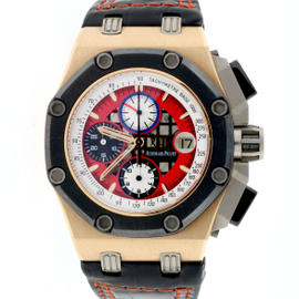 Audemars Piguet Royal Oak Offshore Rubens James Limited 18K Rose Gold Chronograph 42mm Watch
