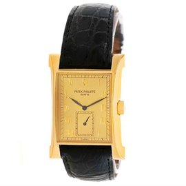Patek Philippe Pagoda 5111G 18K Yellow Gold 26.5mm Mens Watch
