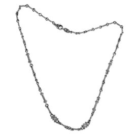 Judith Ripka 18K White Gold Diamond Necklace